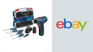 Akku-Bohrschrauber bei Ebay im Angebot: Modell von Bosch zum Top-Preis sichern©Ebay, Bosch