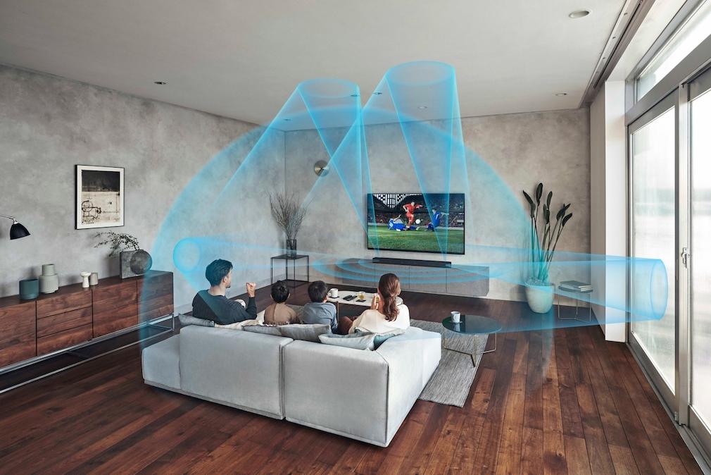 Der Raumklang der Sony HT-A7000 visualisiert