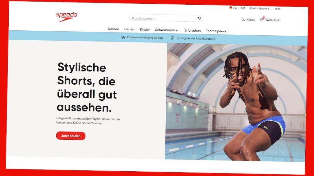 Speedo: Jetzt exklusiven Spar-Deal im Webshop sichern