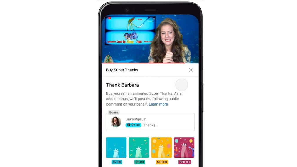 Super Thanks: Neue Einnahmequelle für YouTuber