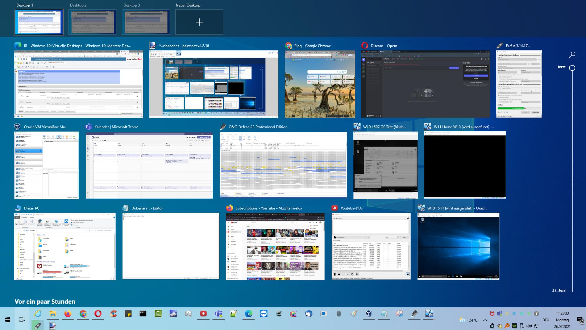 Windows 10/11: Mehrere Desktops aktivieren und nutzen – virtuelle Desktops