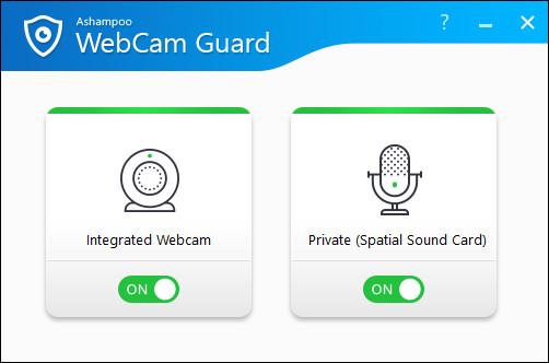 Screenshot 1 - Ashampoo WebCam Guard