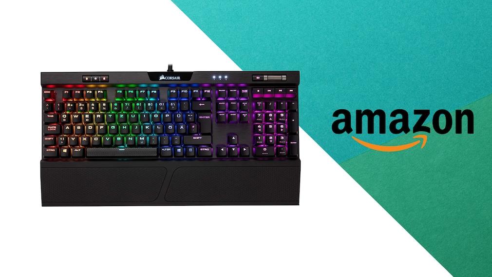 Gaming-Tastatur bei Amazon im Angebot: Corsair zum Bestpreis