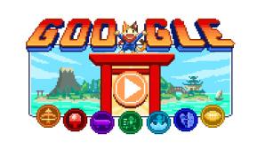 Google Doodle für die Olympischen Spiele in Tokio©Google