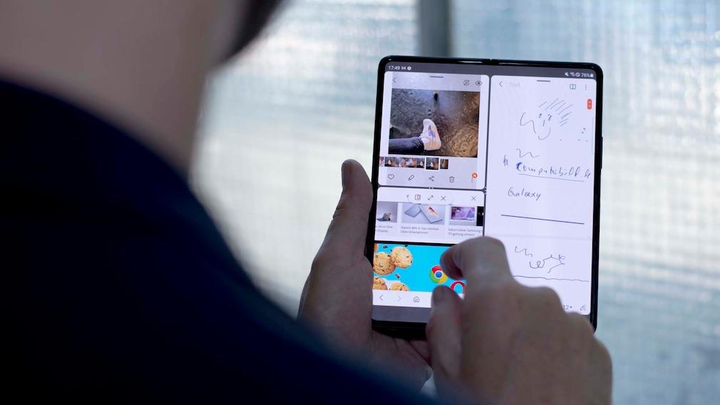 Samsung Galaxy Z Fold 3: Multi-Window