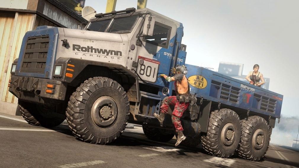 Call of Duty Warzone Solo Trucks