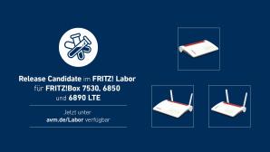Fritz Labor f�r FritzBox 7530, 6890 und 6850©AVM