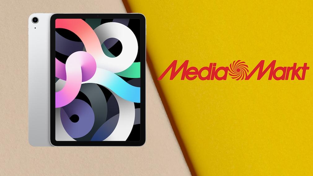 Apple-Angebot bei Media Markt: iPad Air zum Sparpreis kaufen Media-Markt-Angebot: Mit dem Apple iPad Air schießen Sie gerade ein gutes Schnäppchen beim roten Technikfachmarkt.