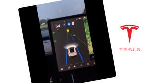 Tesla-Autopilot erkennt Mond als Ampel©Screenshot Twitter-Account Jordan Nelson