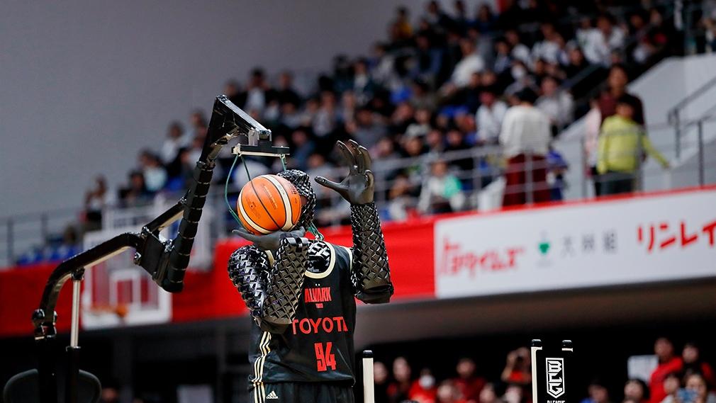 Basketball-Roboter