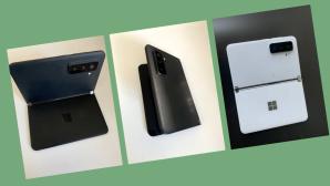Potenzielles Surface Duo 2©Screenshot aus Youtube-Video - Tech Rat