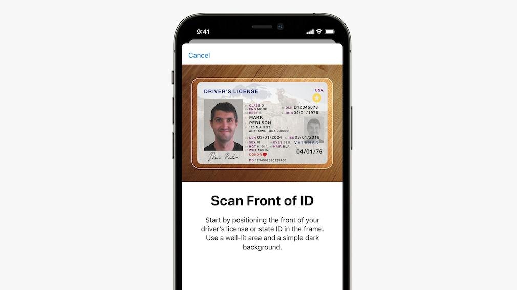 Führerschein im Wallet