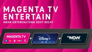 Magenta TV Entertain mit Magenta TV, Disney Plus und TV Now©Telekom Deutschland GmbH