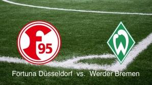 2. Bundesliga: Düsseldorf vs. Bremen©Fortuna Düsseldorf, Werder Bremen, Montage: COMPUTER BILD