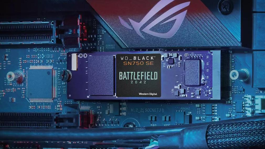 WD_BLACK SN750 SE NVMe SSD Battlefield 2042 PC Game Code Bundle