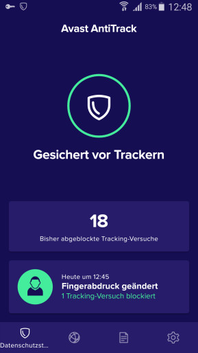 Avast AntiTrack (Android-App)