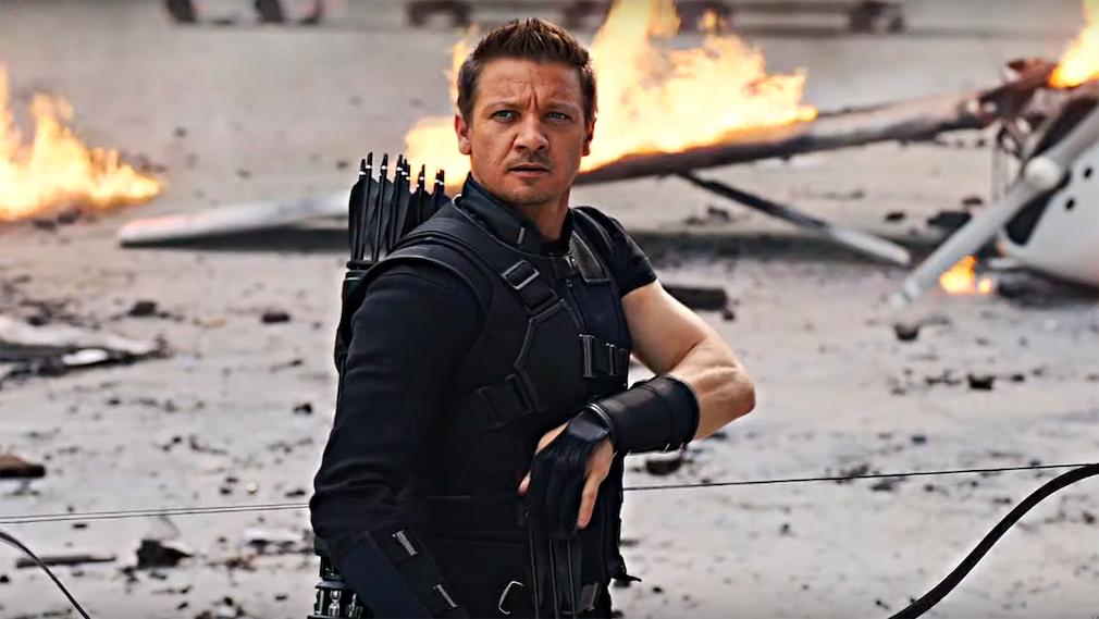 Jeremy Renner als Hawkeye©Marvel/Screenshot YouTube-Channel Evelyn Jackson