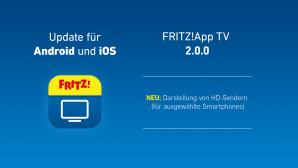 Update für AVM FritzApp TV©AVM