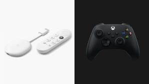 Google Chromecast & Xbox-Controller©Google / Microsoft
