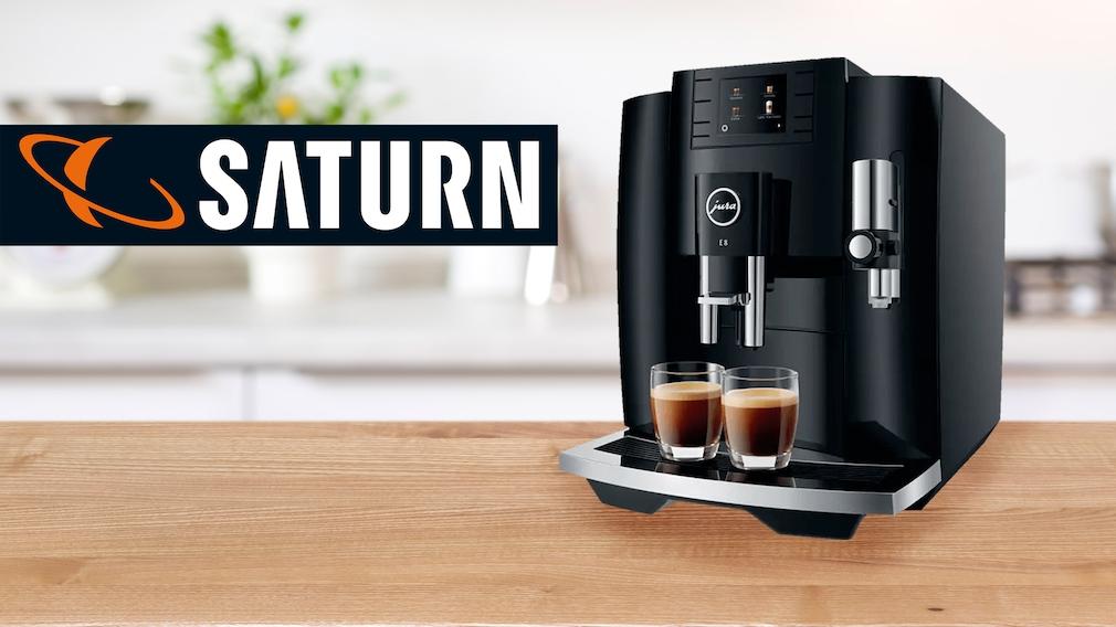 Kaffeevollautomat im Saturn-Angebot: Jura E8 (EB) im Preis gesenkt