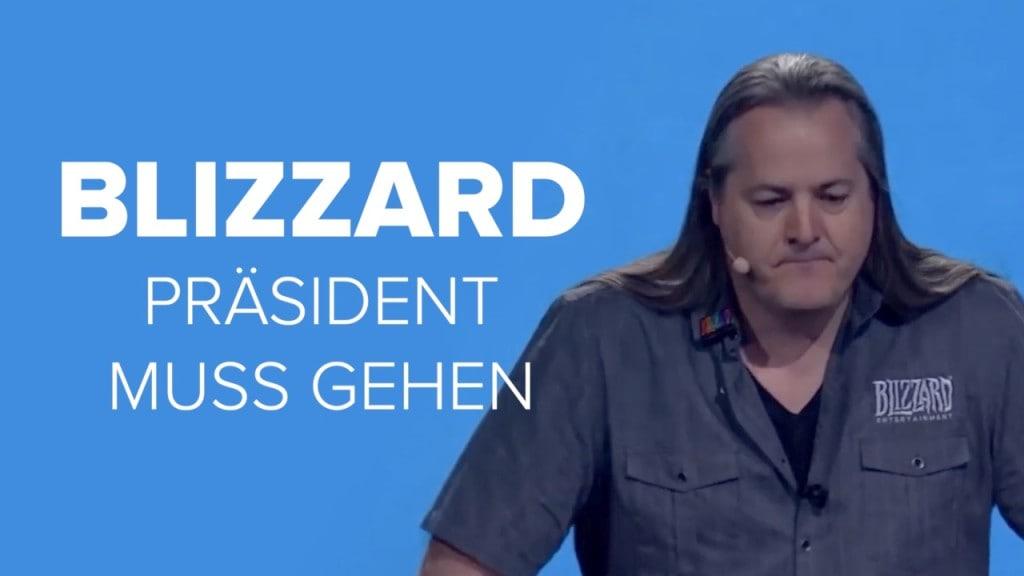 Sexuelle Belästigung und Diskriminierung sind die Anschuldigungen gegen Blizzard