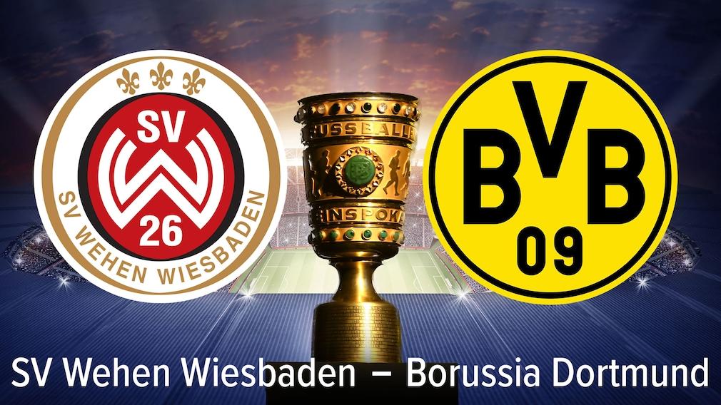 DFB-Pokal SV Wehen Wiesbaden, Borussia Dortmund, sportwetten: Tipps, Prognosen, Quoten