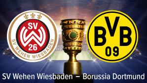 DFB-Pokal SV Wehen Wiesbaden, Borussia Dortmund, sportwetten: Tipps, Prognosen, Quoten©iStock.com/efks, PATRIK STOLLARZ/gettyimages, Sv Wehen-Wiesbaden, Borussia Dortmund