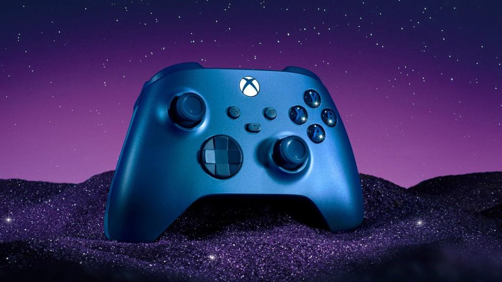 Xbox: Microsoft enthüllt strahlend blauen Controller