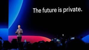 Mark Zuckerberg bei der Facebook F8 Conference©AMY OSBORNE/Getty Images