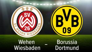 Wehen Wiesbaden gegen Dortmund©Vitaly Krivosheev - Fotolia.com, Borussia Dortmund, SV Wehen Wiesbaden
