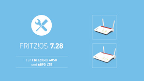 FritzOS 7.28 f�r FritzBox 7583, 7583 VDSL, 6890, 6850 und 4040©AVM