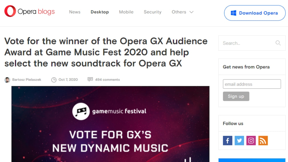 Opera GX: Vorteile gegenüber Opera – der Browser mit Hintergrundmusik Die Spezial-Edition GX von Opera bringt einige hörenswerte Soundtracks mit.
