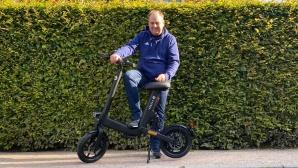 Mann mit V�ssla Bike©COMPUTER BILD