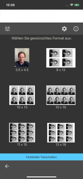 Passfoto & Passbild (App für iPhone & iPad)