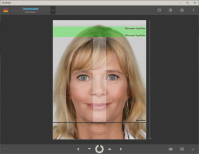 Passbilder (Windows-10-App)