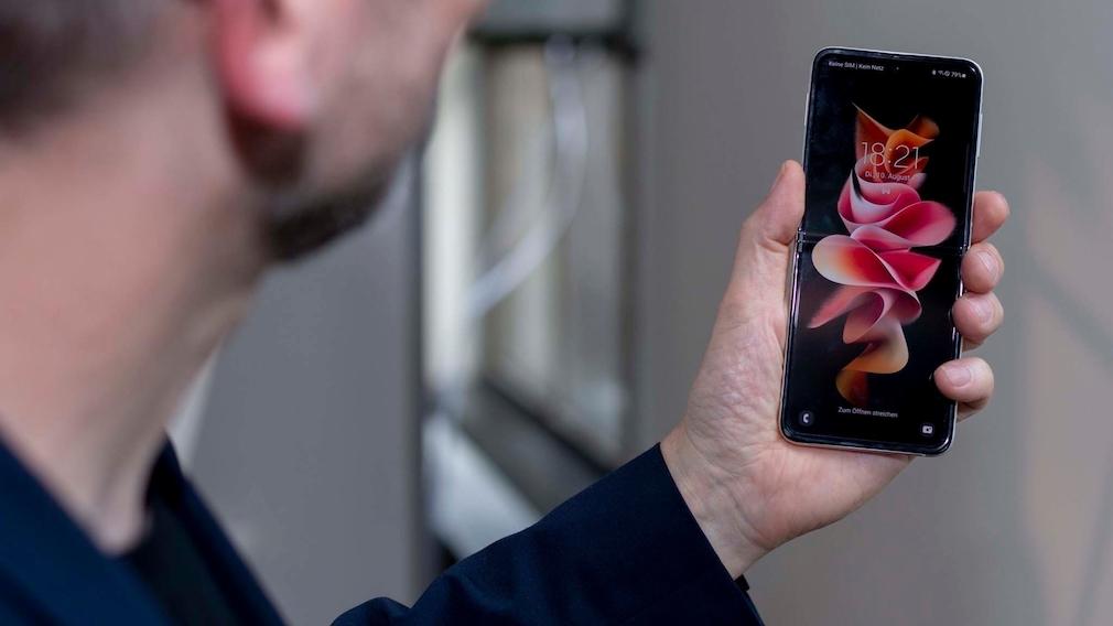 Galaxy Z Flip 3 mit Innendisplay