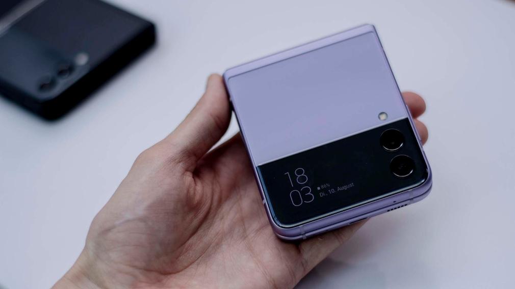 Galaxy Z Flip 3 zugeklappt