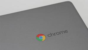 Chrome-Logo auf dem Deckel des Lenovo Chromebook C340©COMPUTER BILD