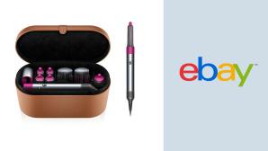 Haarstyler bei Ebay im Angebot: Dyson Airwrap durch Kniff g�nstiger kaufen©Ebay, Dyson