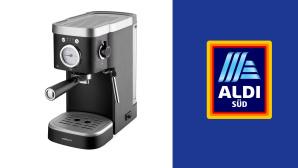 Espressomaschine bei Aldi im Angebot: Starker Muntermacher zum kleinen Preis©Aldi S�d, Ambiano