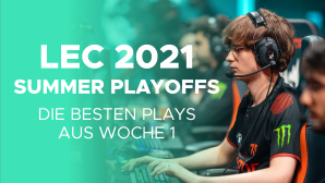 LEC Summer Playoffs 2021 Woche 1©Riot Games / GLHF.gg