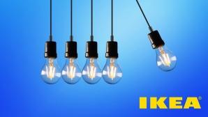 Lampen mit Ikea-Logo©Ikea