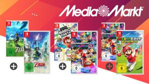Nintendo-Switch-Angebot bei Media Markt: Zwei Games im Bundle günstiger©iStock.com/ -VICTOR-, iStock.com/ Ali Kahfi, Media Markt, Nintendo