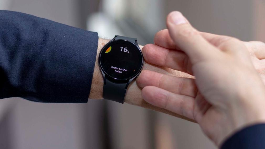 Galaxy Watch 4 Classic Körperanalyse
