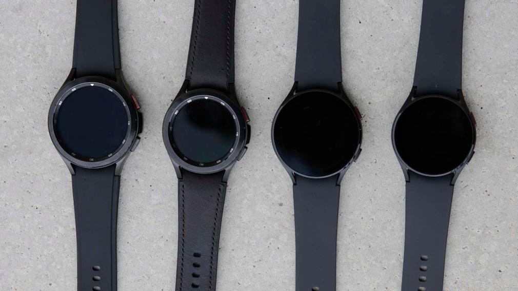 Modellvergleich Galaxy Watch 4 Reihe