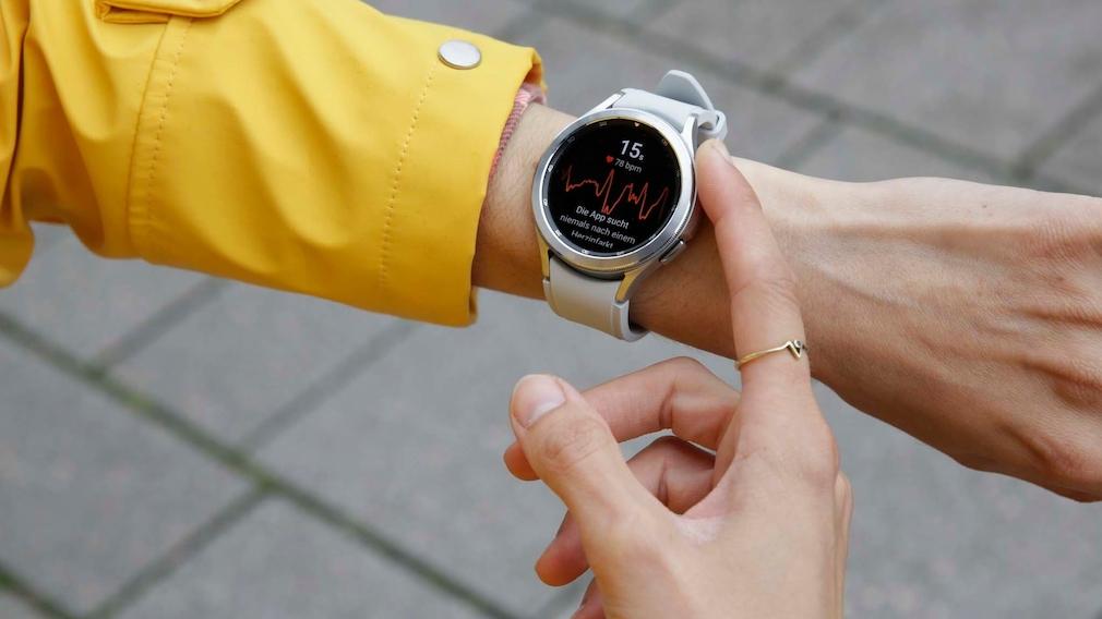 Samsung Galaxy Watch 4 Classic EKG Funktion