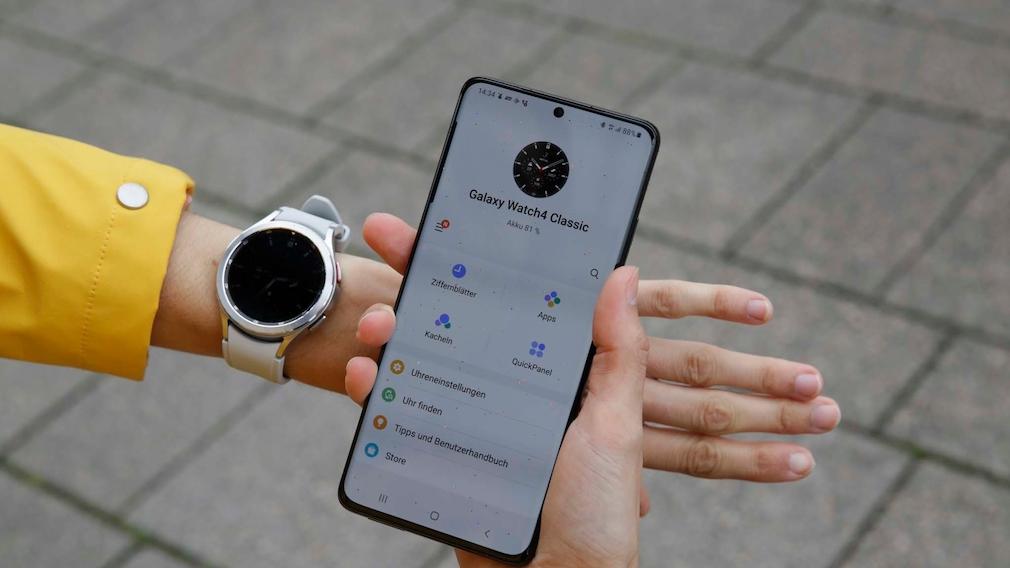Samsung Galaxy Watch 4 Classic Wear App