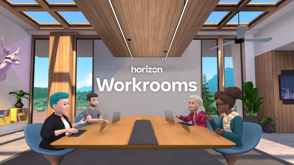 Horizon Workroom: Facebooks Vision für Arbeit