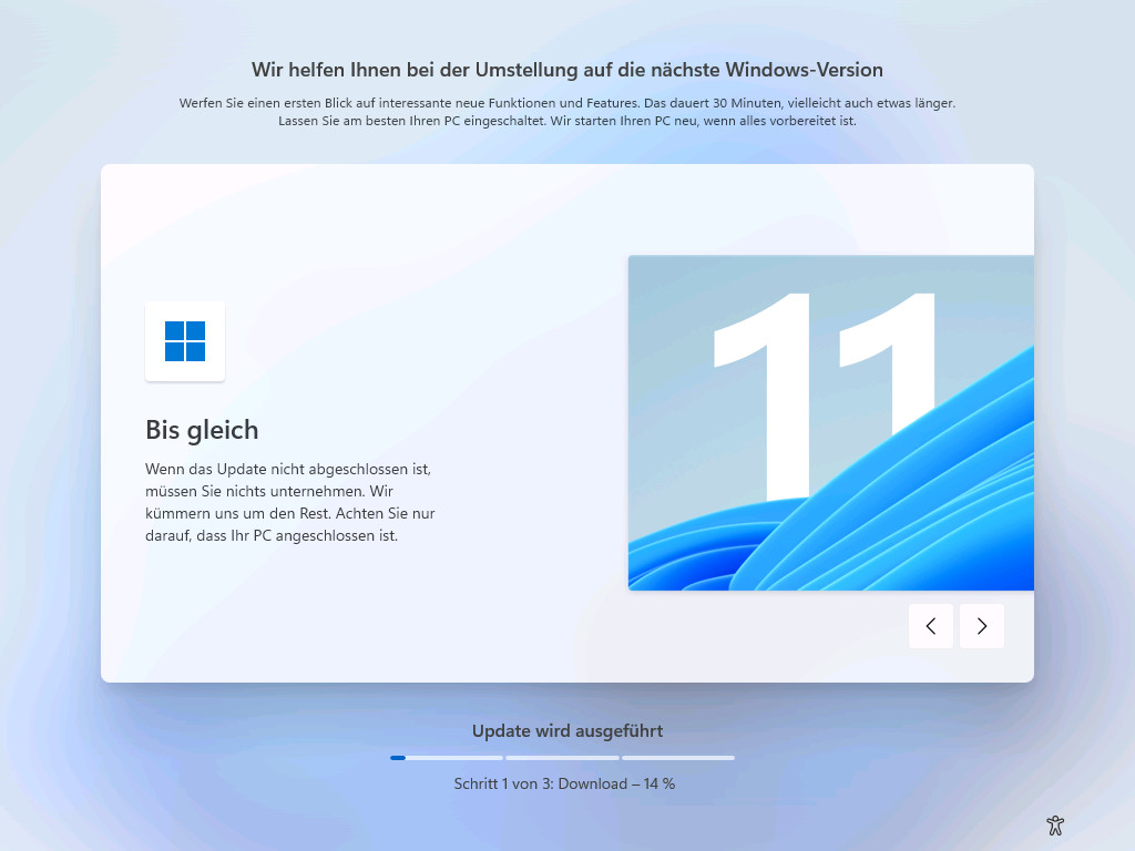 Screenshot 1 - Windows 11 als ISO-Datei