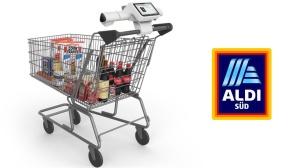 Smarter Einkaufswagen von Aldi S�d©Shopic/Aldi S�d